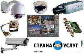Установка и ремонт камер видеонаблюдения Волжский