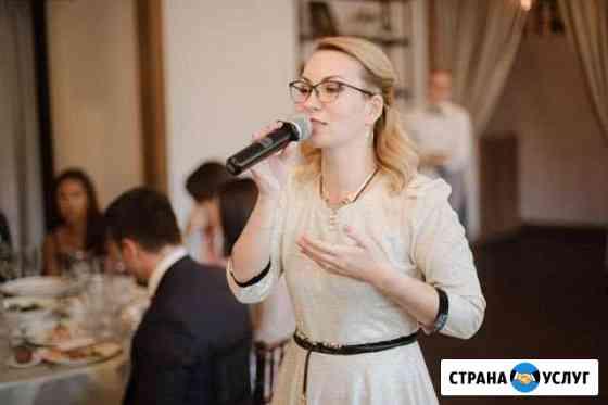 Ведущая с чувством юмора, такта, отличным вокалом Обнинск