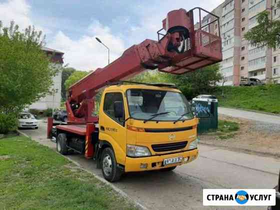 Услуги автовышки 22 м во Владивостоке Владивосток