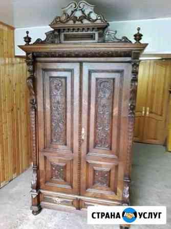 Реставрация старинной антикварной мебели Оренбург
