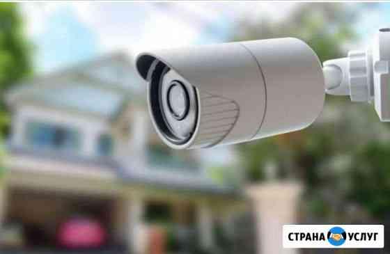 Установка видеонаблюдения Палех