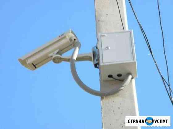 Монтаж и обслуживание видеонаблюдения, опс Улан-Удэ