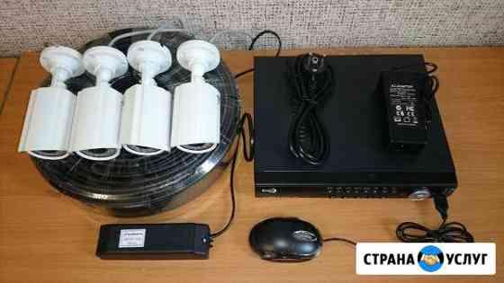 Установка и продажа систем видеонаблюдения Барнаул