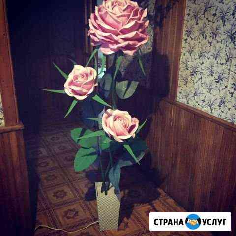 Ростовые цветы-торшеры Орёл