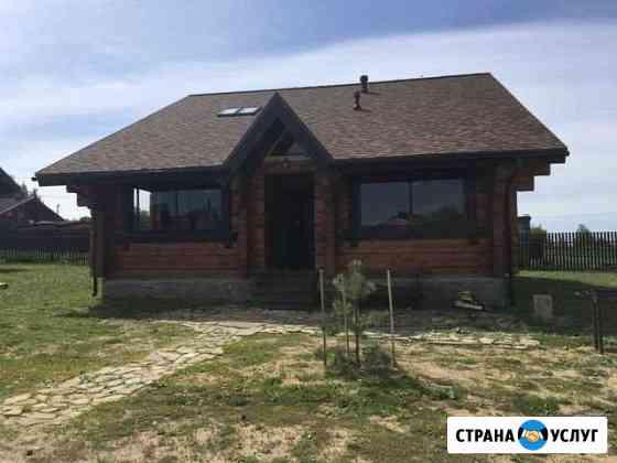 Дом 190 м2 на берегу реки Волга Калязин