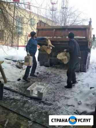 Уборка и вывоз строительного мусора Тюмень