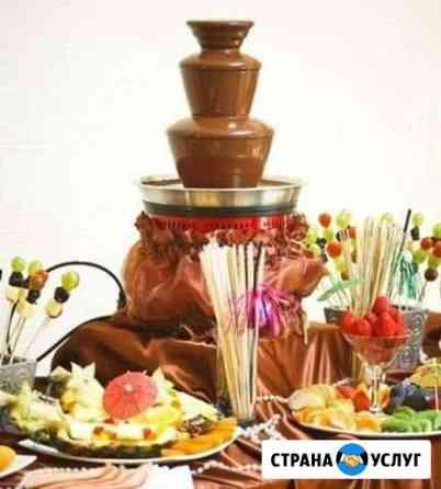 Шоколадный фонтан Сургут