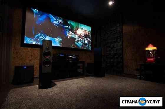 Установка и настройка аудио, видео оборудования Новосибирск