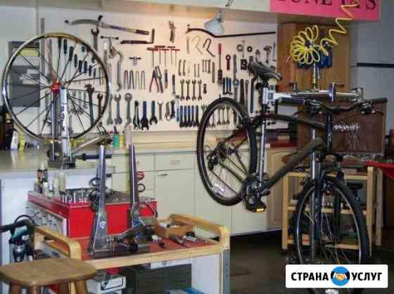 Ремонт велосипедов веломастерская 30 лет на рынке Великие Луки