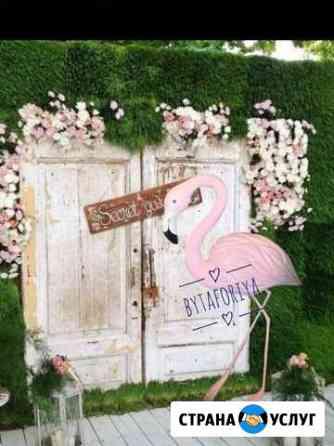 Фламинго/изготовление декора/топиари Ярославль