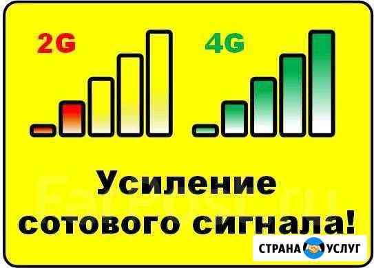 Усиление сигнала сотовой связи по всему краю Букачача