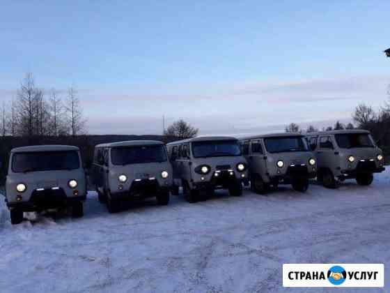 Аренда автомобиля УАЗ с водителем Нерюнгри