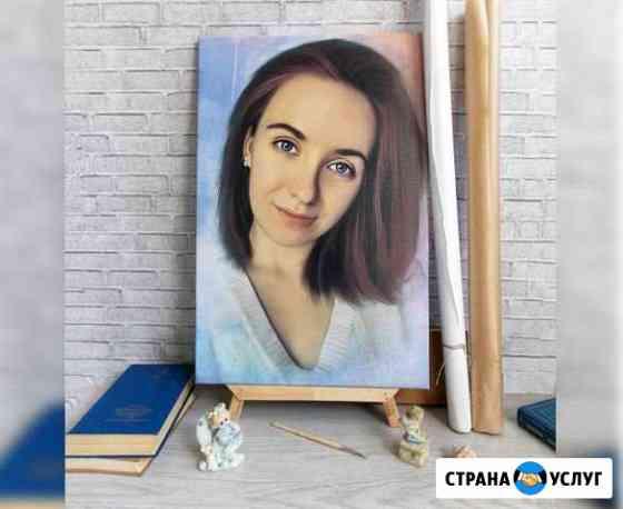 Портрет, фото-картина Саратов, Энгельс Саратов