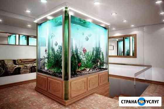 Чистка и обслуживание аквариума Ялта