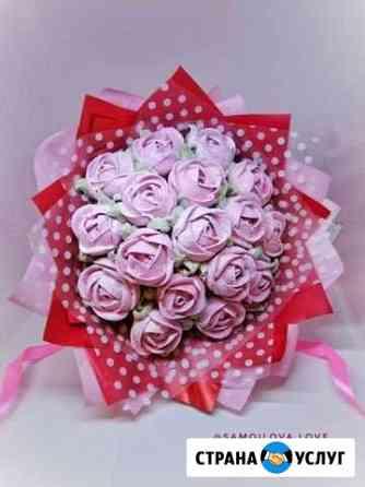 Съедобные зефирные розы Белгород