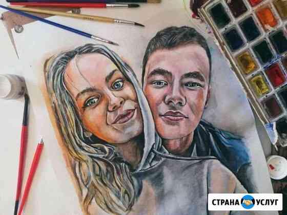Пишу портреты по вашим фото Петрозаводск