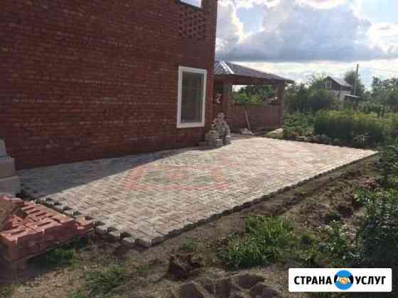 Укладка тротуарной плитки Благовещенск