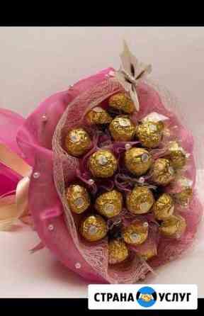 Букеты из конфет.сладкие композиции Иваново