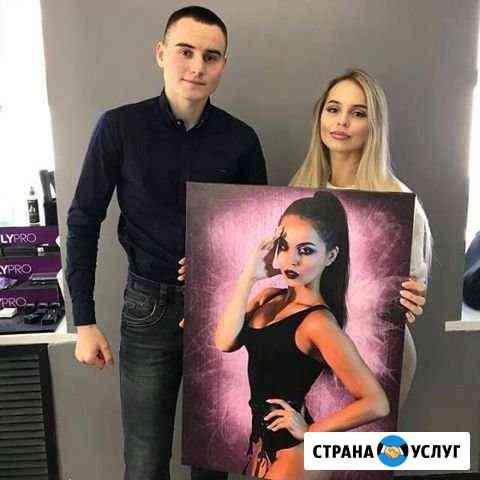 Стилизованный портрет по фотографии Челябинск