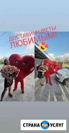 Доставка цветов, шаров и подарков Шахты