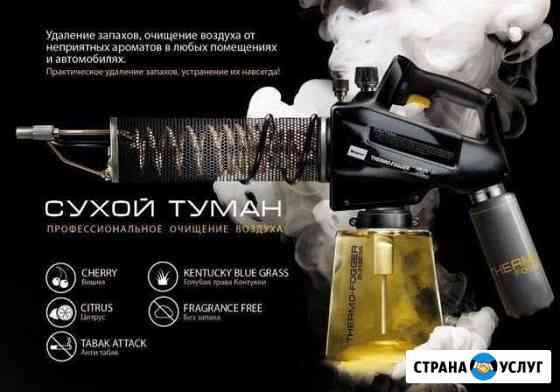 Дезинфекция автомобиля и небольших помещений Мурманск