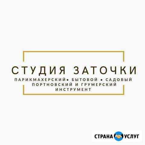 Заточка ножей, парикмахерского и бытового инструме Брянск