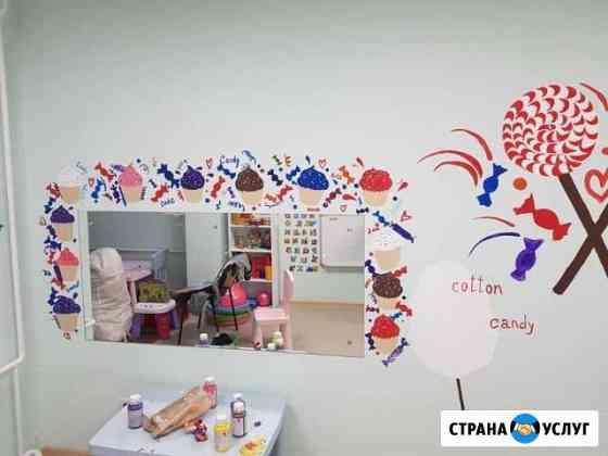 Роспись веранд, стен Челябинск