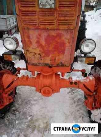 Очистка снега трактором Анжеро-Судженск