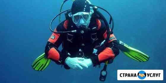 Водолаз дайвер поиск под водой Пермь