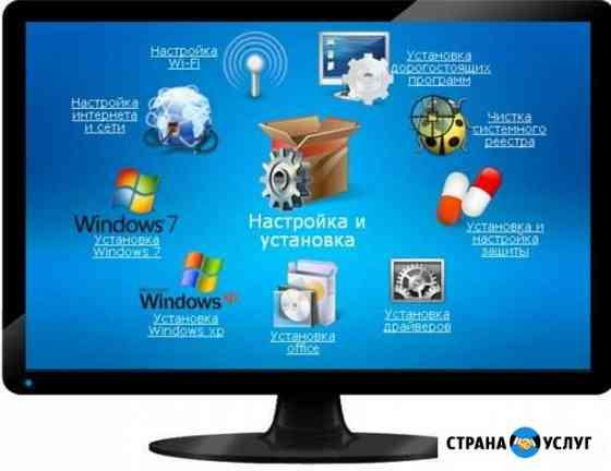 Установка по Windows, Mac OS Сарапул