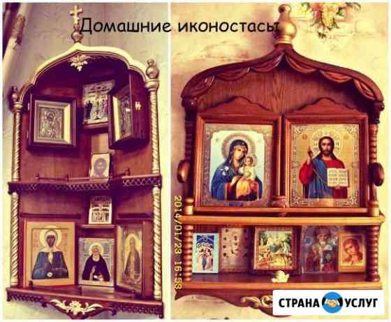 Реставрация икон, изготовление киотов, окладов Острогожск
