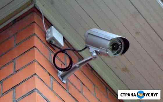 Установка Видеонаблюдения Волжский
