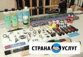 Сборка, тюнинг, ремонт спиннингов Петропавловск-Камчатский