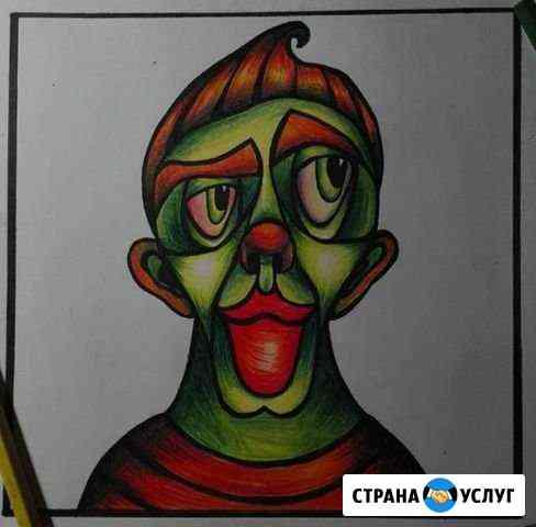 Картины, рисунки Псков
