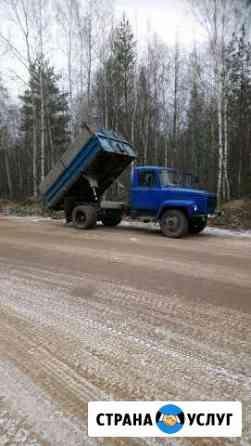 Песок щебень грунт аренда Кострома