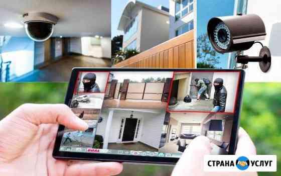 Монтаж видеонаблюдения Красноярск