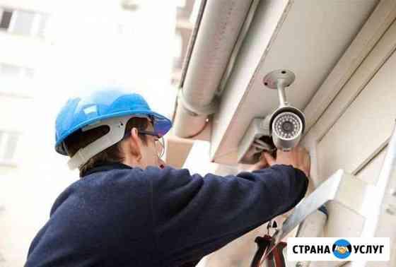 Установка видеонаблюдения,настройка,обслуживание Ижевск