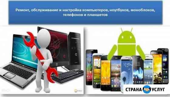 Программный ремонт пк, ноутбуков и телефонов Окуловка