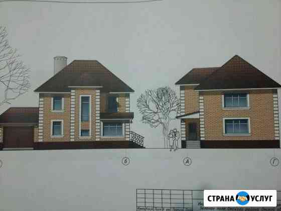 Проект двухэтажного дома с гаражом Колосовка