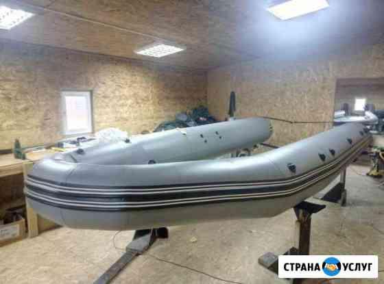 Баллон на катер риб Мурманск