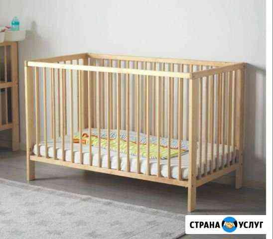 Кроватка в аренду с матрасом и бортами Севастополь
