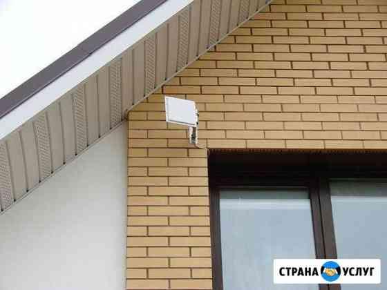 Установка интернета в частный дом Тума
