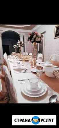 Прокат столы и стулья Аргун