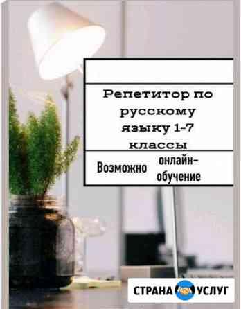 Репетитор по русскому языку Елец