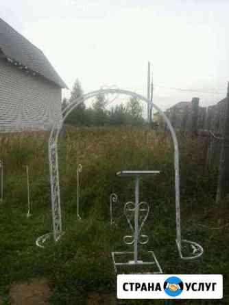 Свадебная арка и регистрационный столик аренда Волжск