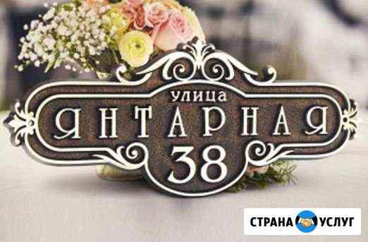 Адресные таблички Мурманск
