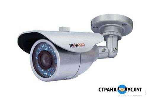 Монтаж видеонаблюдения, домофонов, контроля доступ Краснодар