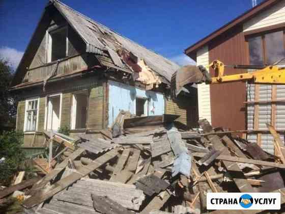 Демонтаж, снос домов, очистка территории Саранск