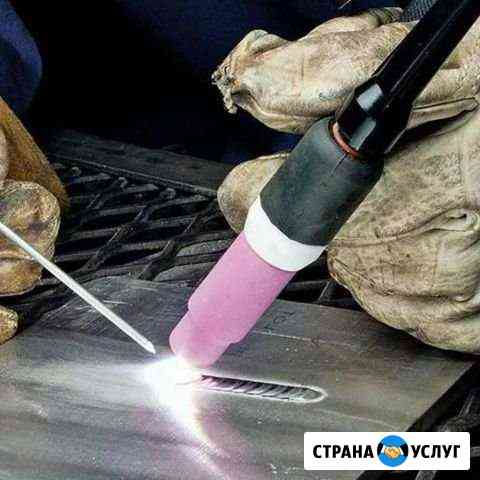 Сварочные работы. Аргон. Южный Хабаровск