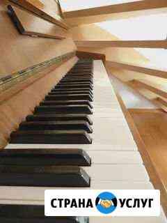 Настройка музыкальных инструментов (пианино, форте Симферополь
